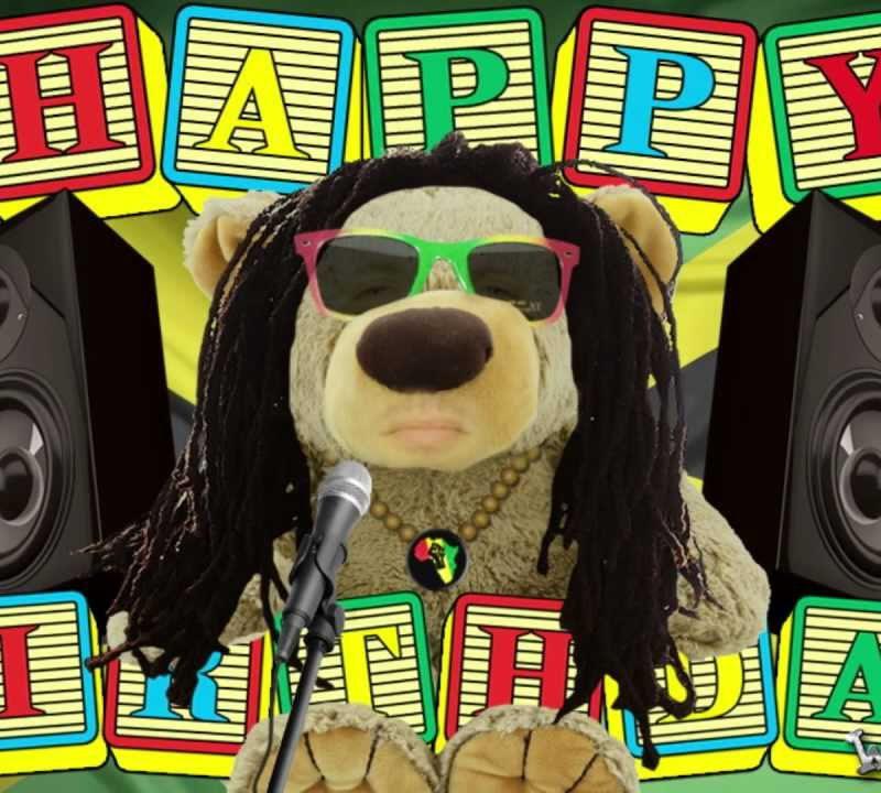 Happy Birthday To Me Inna Reggae Stlylie Video Bday Card Mvgen